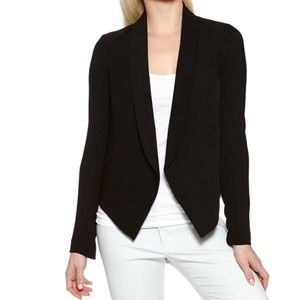Bailey 44 sheer back blazer